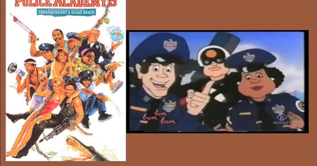 Scuola di polizia cartone animato e film