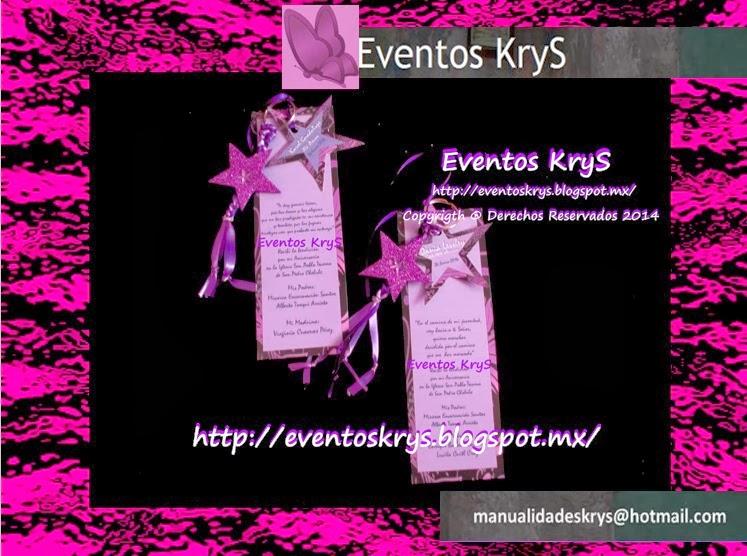 Eventos KryS: InViTaCioNeS y ReCueRDoS PaRa XV AñOS!!!