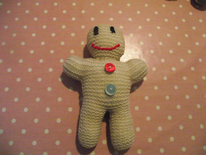 Primroses Attic My Knitted Gingerbread Men