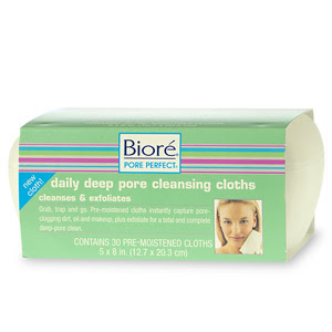 Biore, Biore Daily Deep Pore Cleansing Cloths, Biore cleansing cloths, Biore cleansing wipes, Biore skincare, Biore skin care, skin, skincare, skin care, cleansing cloths, cleansing wipes, face wipes, Biore face wipes