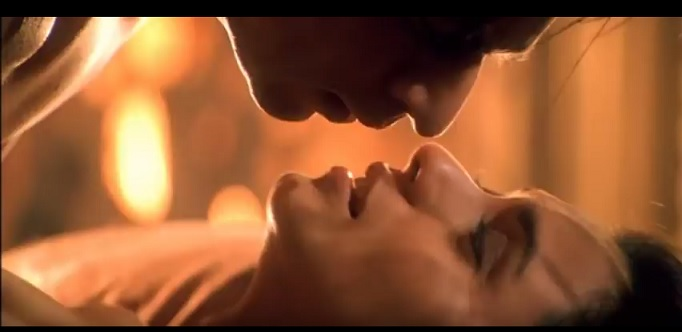 shahrukh khan hot scene