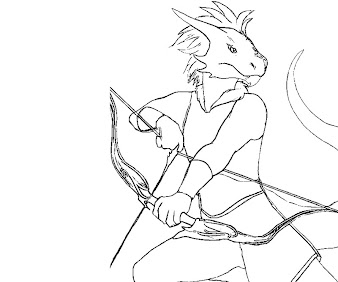 #1 The Elder Scrolls Coloring Page