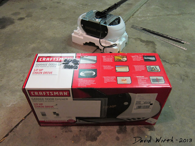 how to install craftsman garage door opener, 1/2 hp, craftsman garage door
