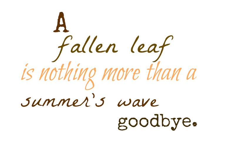 Autumn Leaves Quotes. QuotesGram
