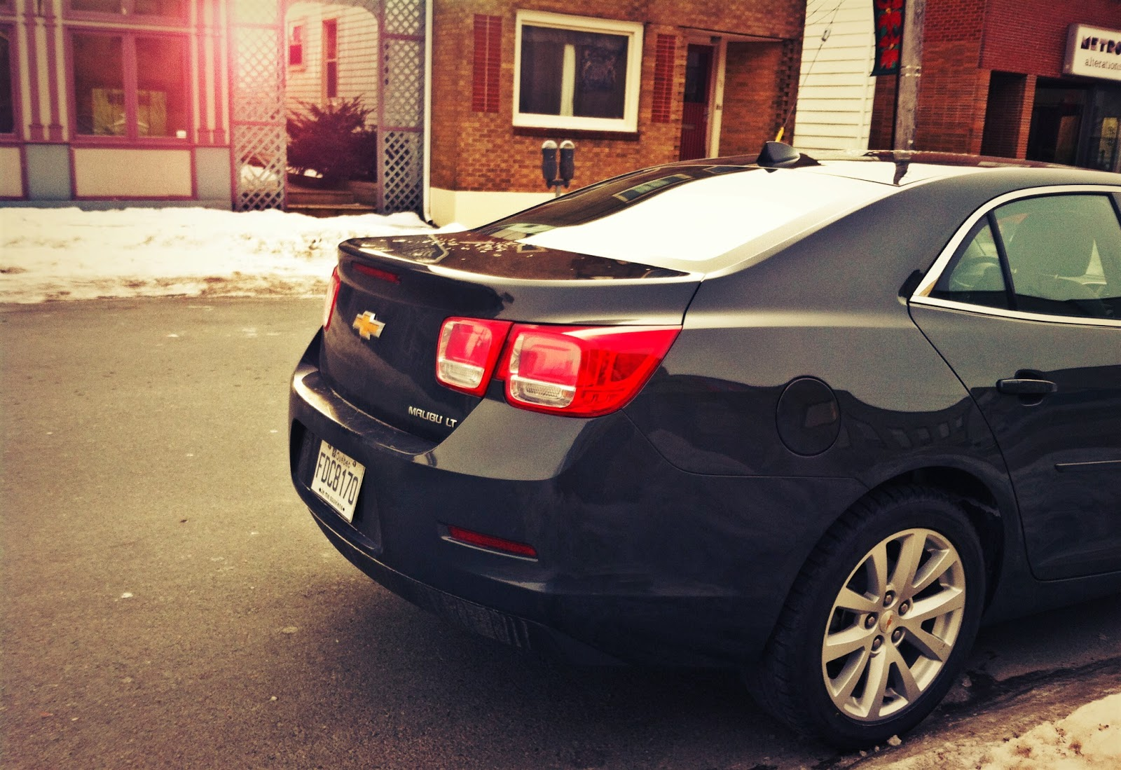 2014 Chevrolet Malibu taillights