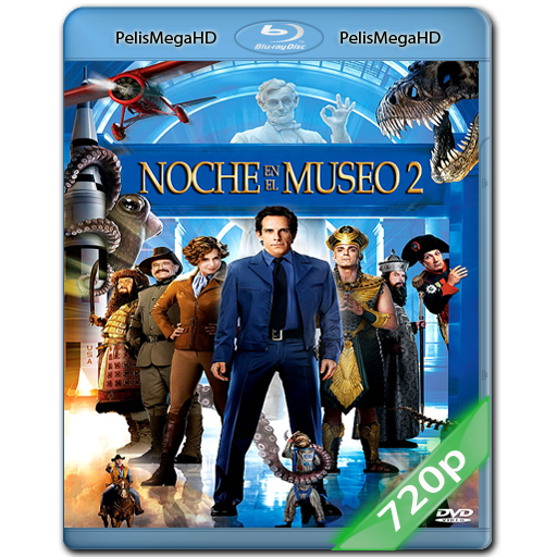 NOCHE EN EL MUSEO 2 (2009) 720P HD MKV ESPAÑOL LATINO