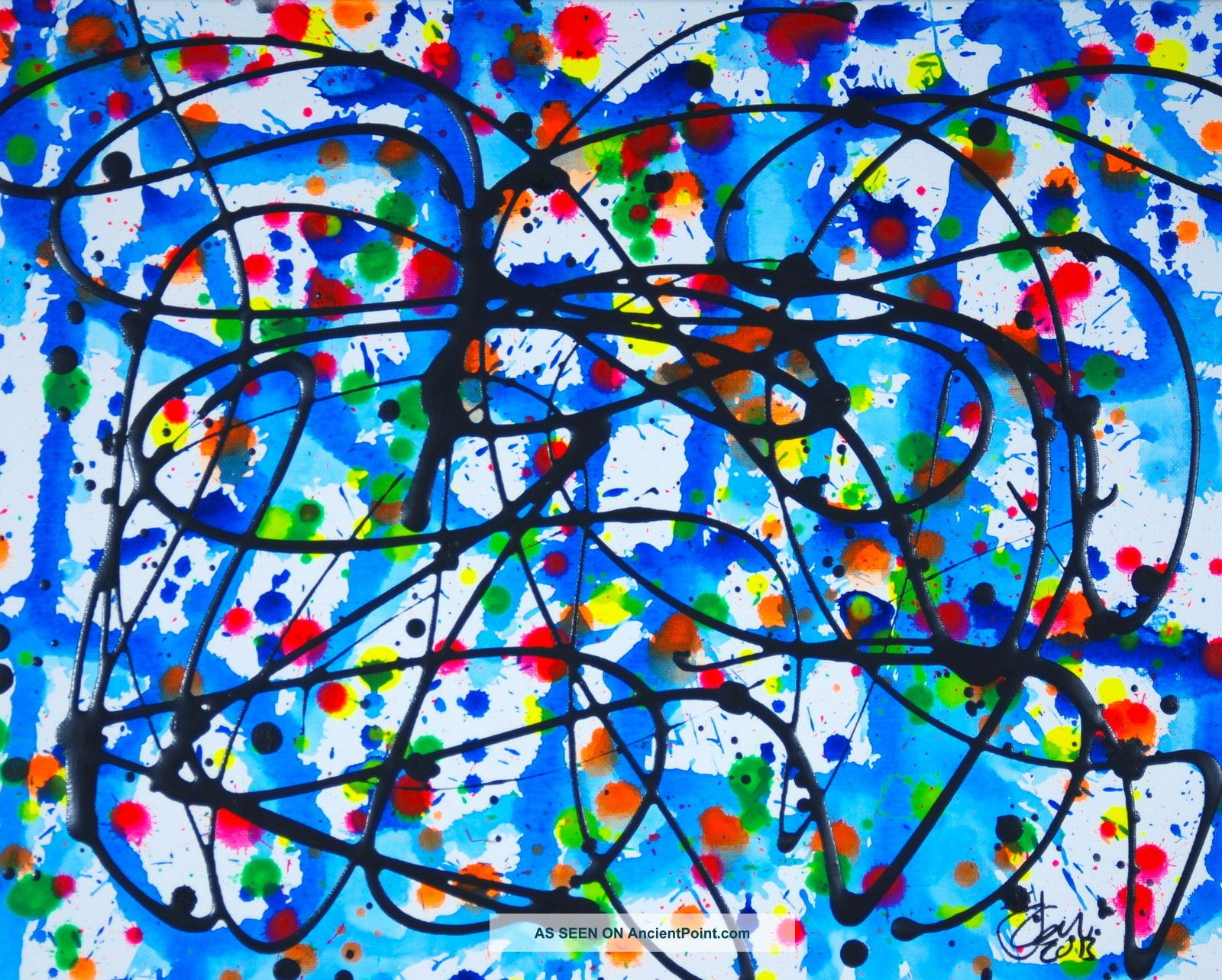 Famous Pollock Paintings