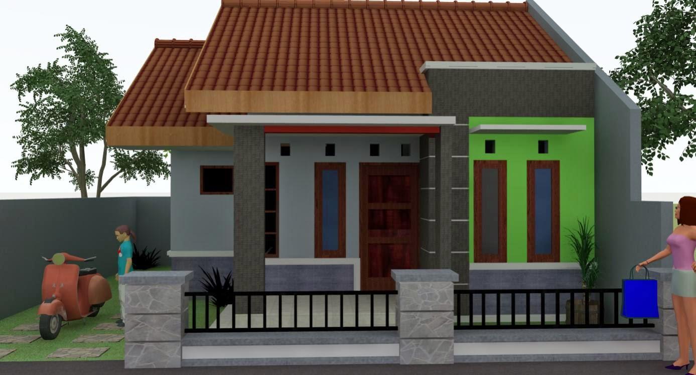 10 gambar rumah sangat sederhana yang menawan desain