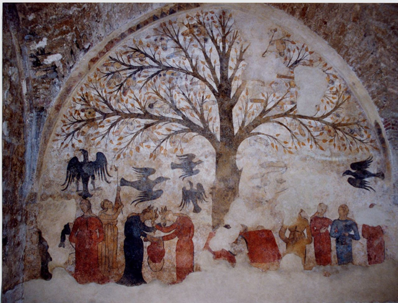 Beyond borders why so serious phallic trees and humour in fig 2 massa maritima mural amipublicfo Image collections