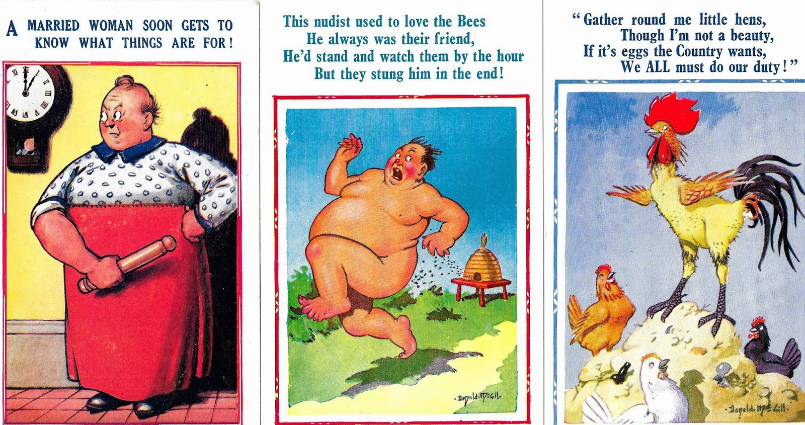 saucy seaside postcards date