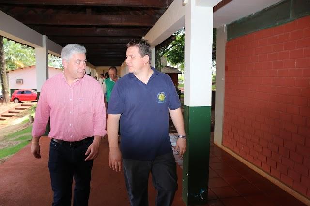Colégio Agrícola recebe investimentos do Governo Estadual