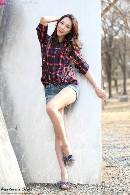 2 Ju Da Ha - Outdoor-very cute asian girl-girlcute4u.blogspot.com