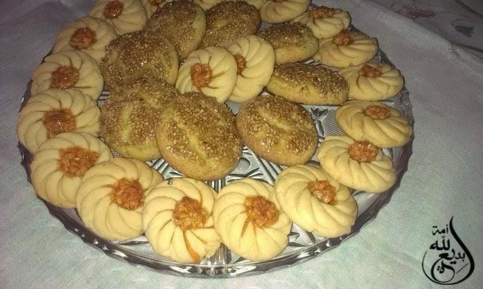حلويات مغربية للعيد : صابلي الشميشة جد سهل و لذيذ بالصور المشروحة
