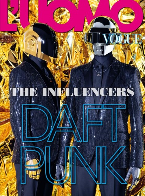 Daft Punk L'Uomo Vogue Cover