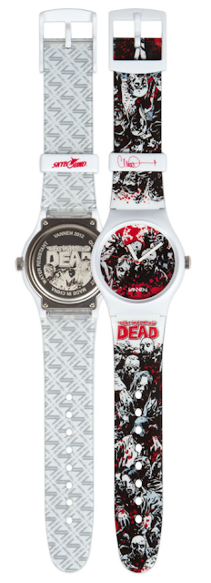 "The Walking Dead ""Walkers 2.0"" Watch by Vannen featuring art by Charlie Adlard"