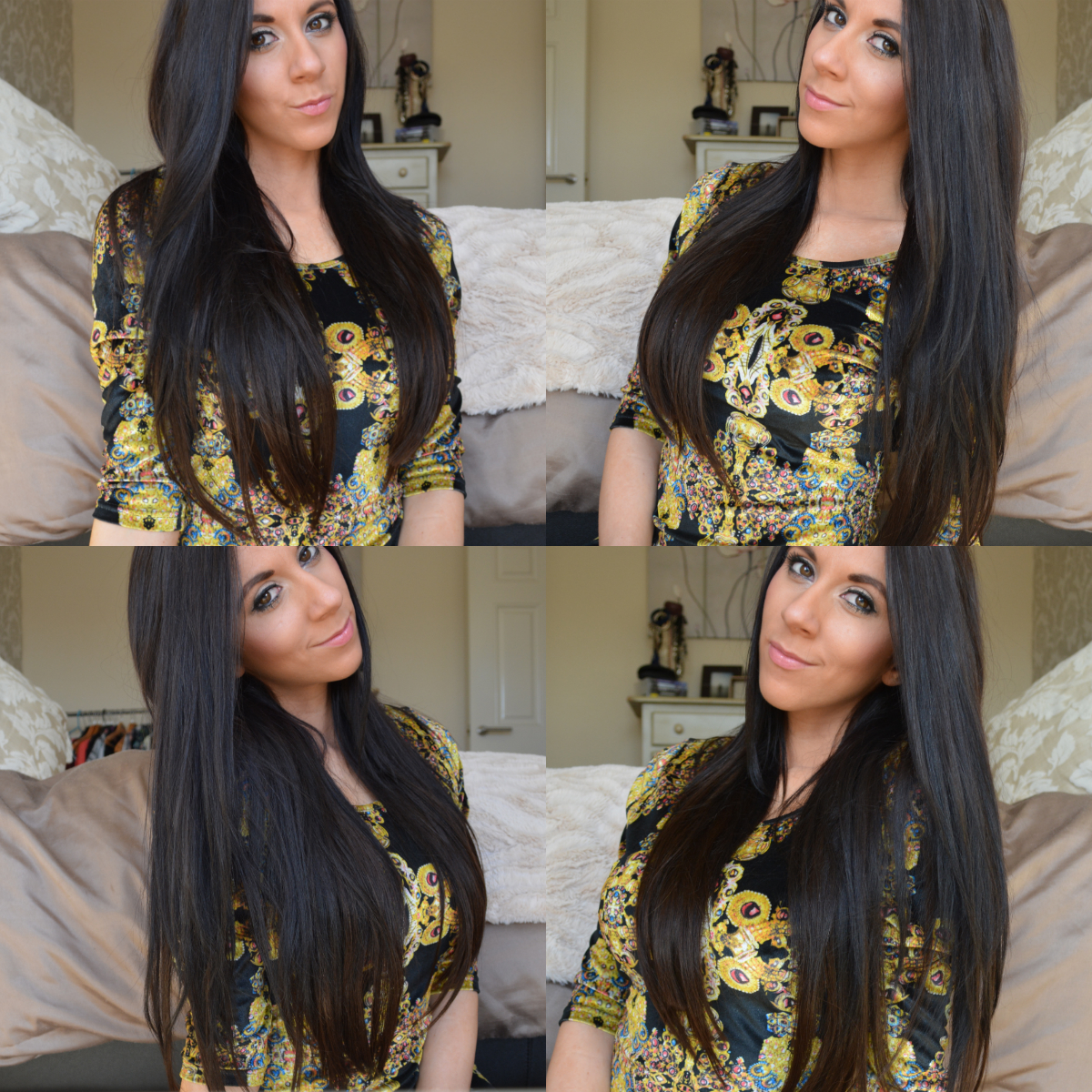Dirty Looks Hk Hair Extensions Review Miss Sunshine And Sparkle