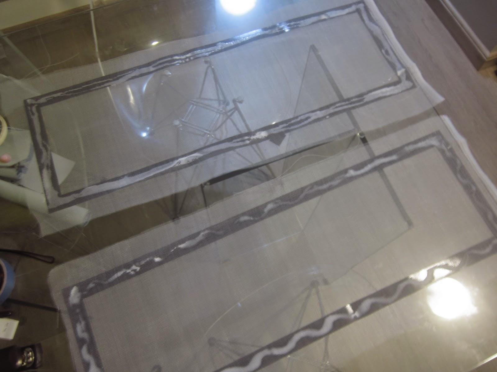 de tela mosquiteiro para garantir joguei um pouco de cola e deixei #2C5D9F 1600x1200