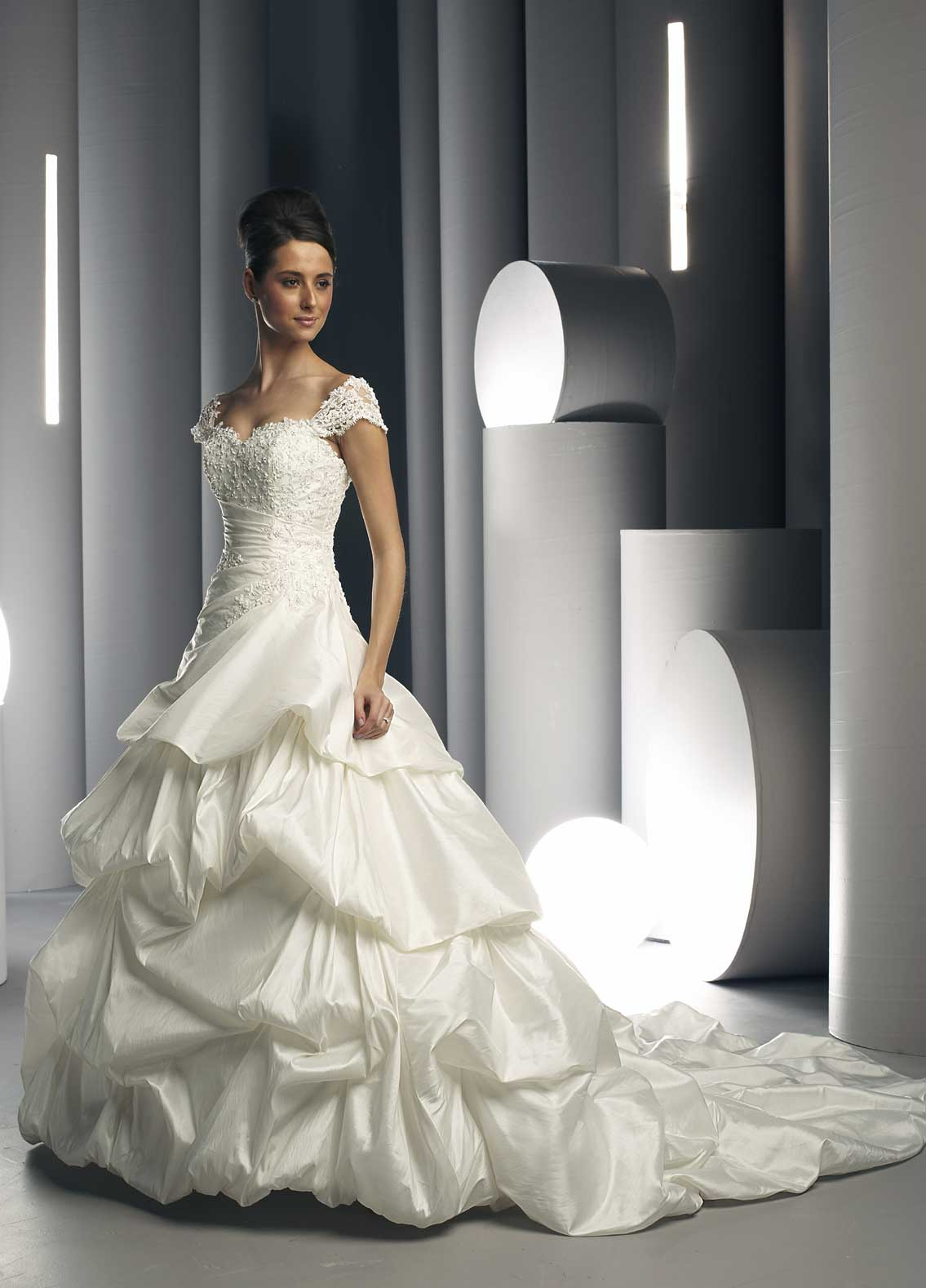 The dream wedding inspirations white bridal gowns for Wedding dresses that are white