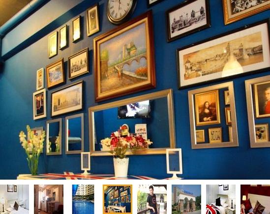 The London Living Appartment Beralamat Di Apartemen Kebagusan City Tower C Check In Counter At Lounge Cafe TheLondonLiving Jl Baung Raya