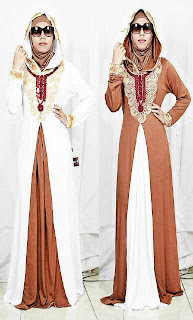 Gamis Hoodie Syahrini fit to L