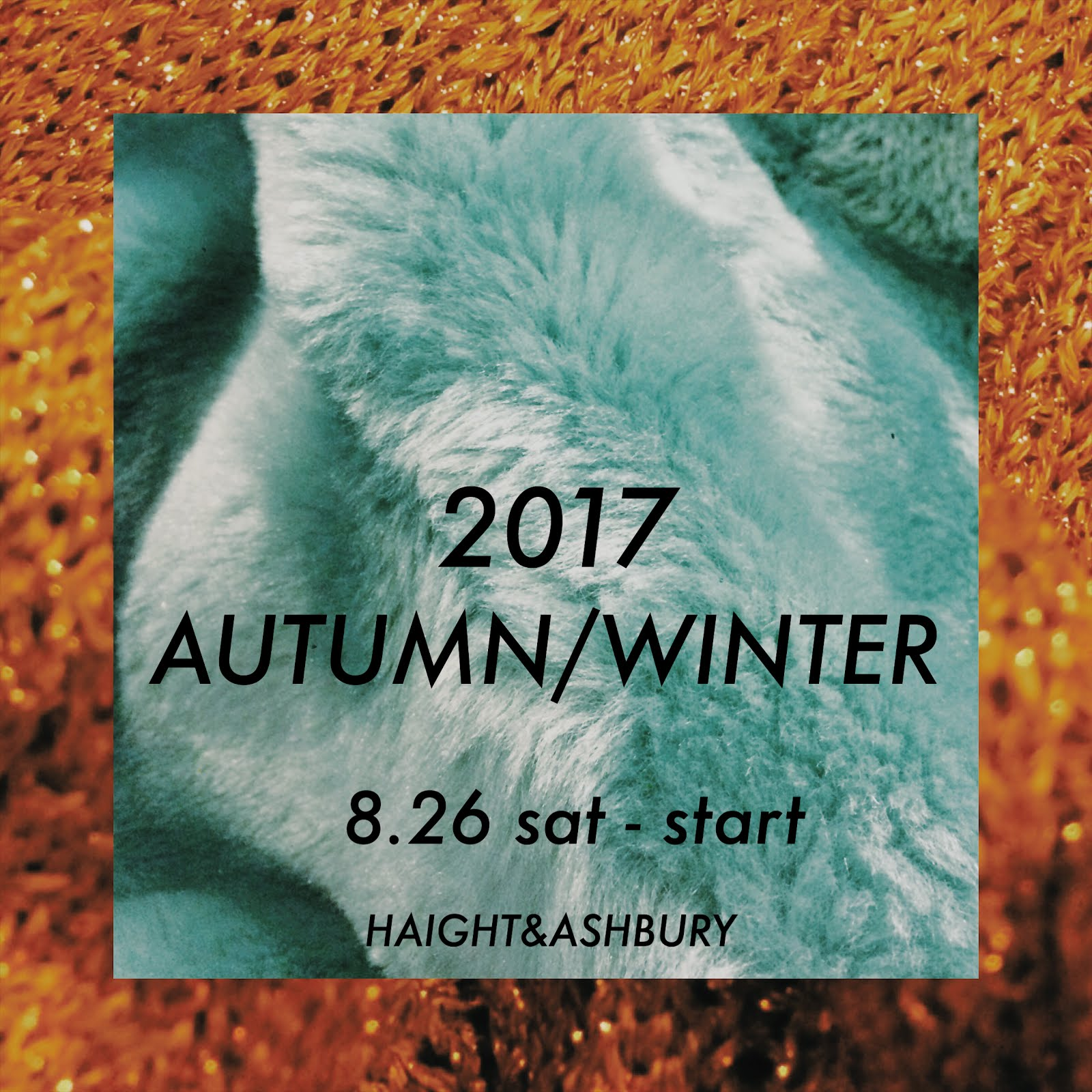 8月26日より秋冬スタート!