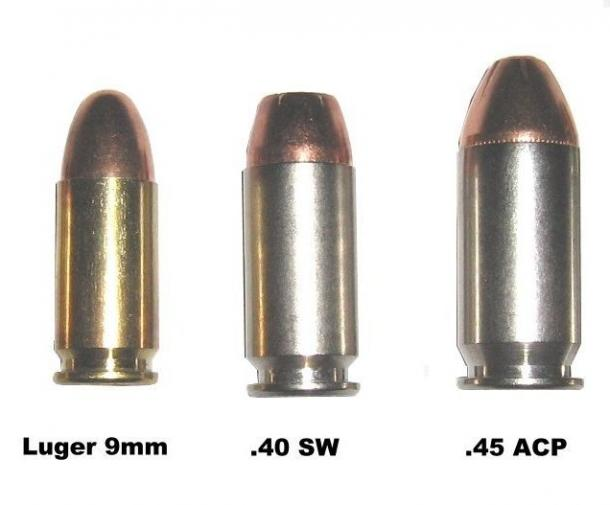 357 Magnum Vs 9mm Man-stopping rounds are the .357 magnum, the .40 s&w ...