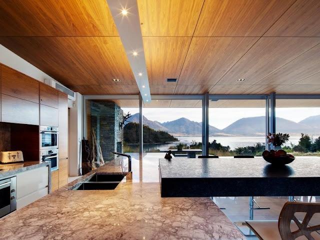 Marble kitchen furniture