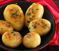 Batatas Coradas (vegana)