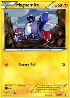 Magnemite Plasma Storm Pokemon Card