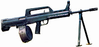 QBB-95 light machine gun LMG