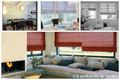 Un architetto in cucina: Le tende moderne: a pacchetto, a pannelli e a ...