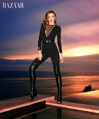Miranda Kerr Harper's Bazaar February 2015 Photoshoot by Terry Richardson