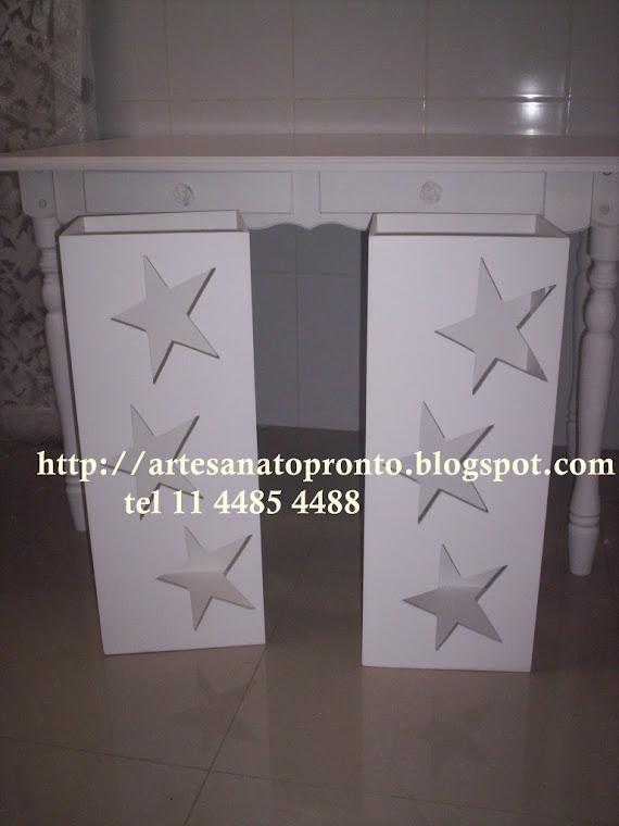 cubos estrela para base de mesa clean R$ 110,00 nedidas 27x27x71A