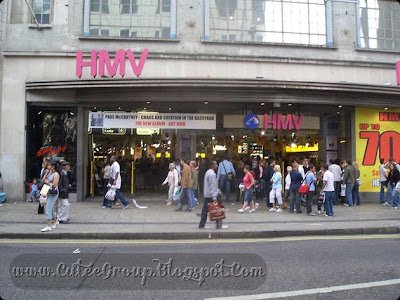 HMV The British global entertainment retail chain, HMV's full company name is His Master's Voice. Apart from being listed on the London Stock Exchange, the company also operates in Hong Kong and Singapore