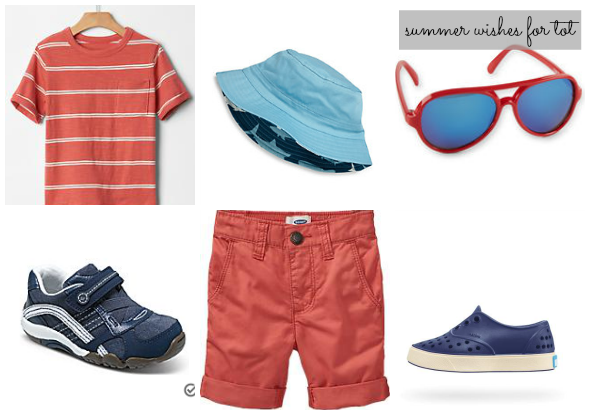 summer 2015 wishlist for toddler boy | www.shealennon.com