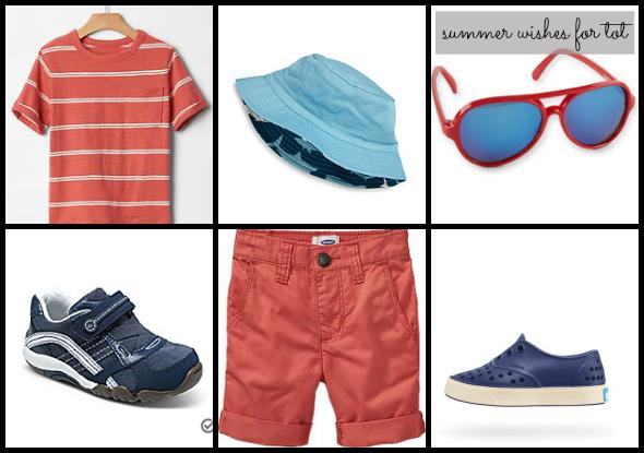 summer 2015 wishlist for toddler boy | www.shealennon.com