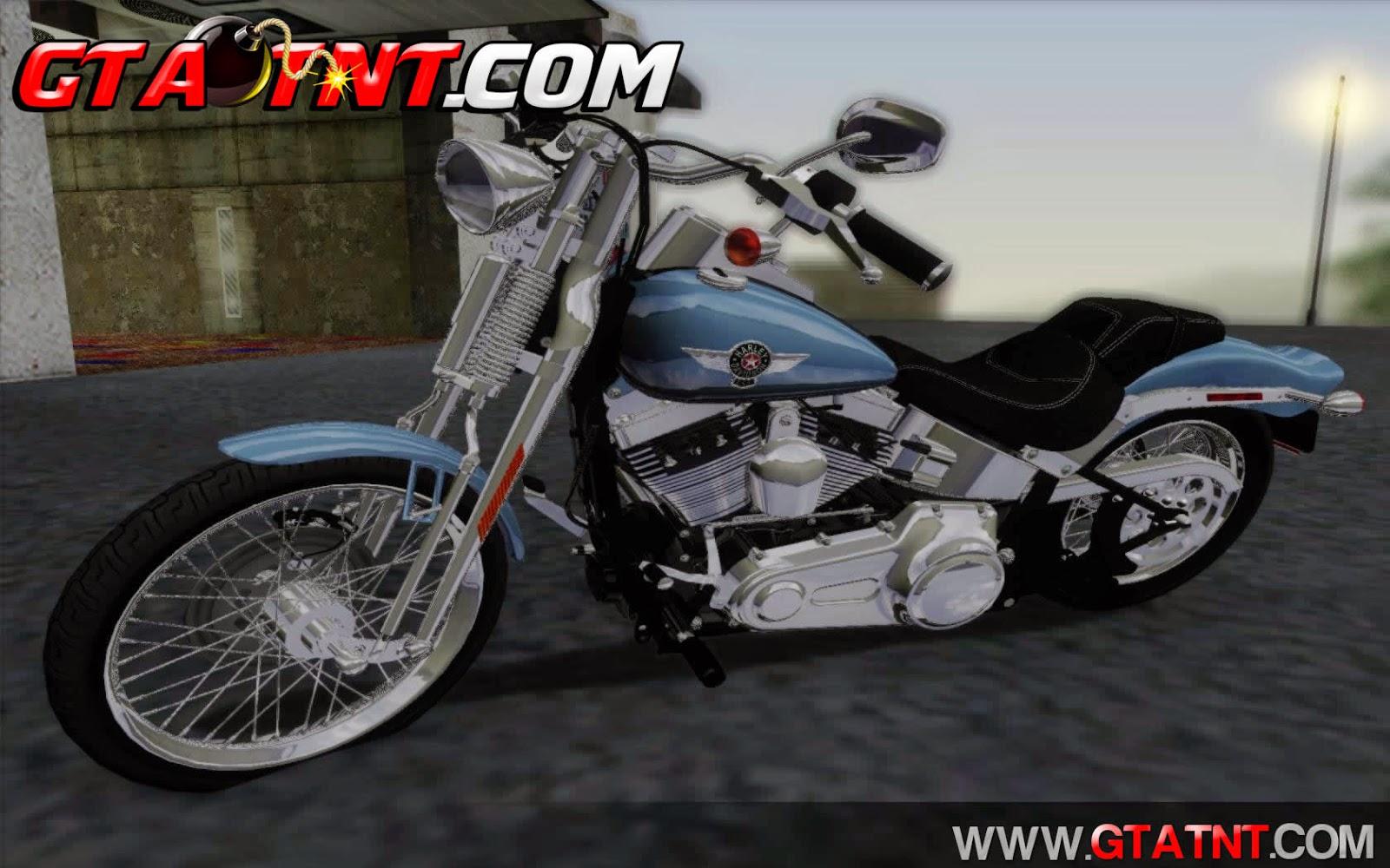 Harley-Davidson FXSTS Springer Softail para GTA San Andreas