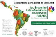 1° Encuentro Latinoamericano de Ayurveda 2016