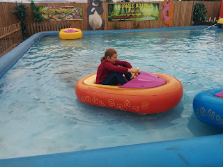 Top Ender in a boat at Hop Farm