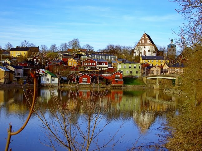 Best Place To Visit Around The World Porvoo Beautiful