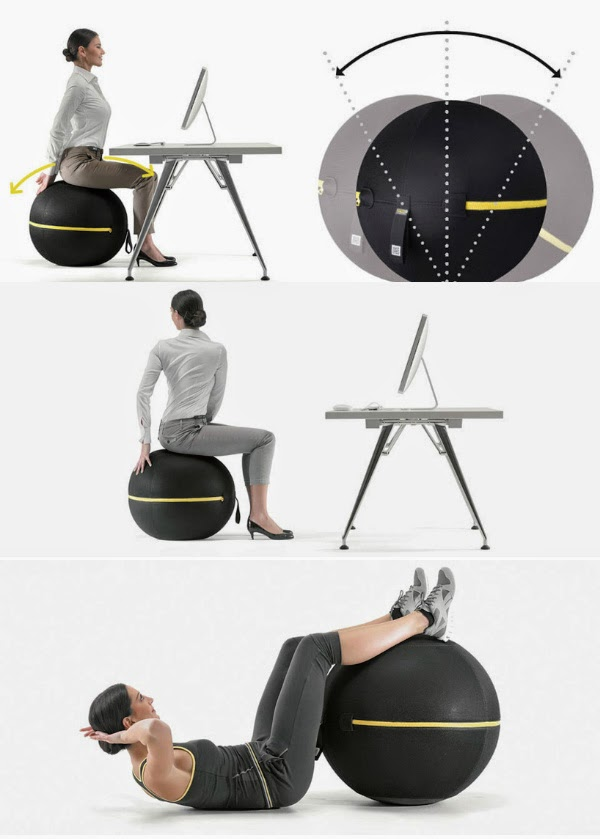65 creative furniture ideas spicytec for Creative office furniture ideas