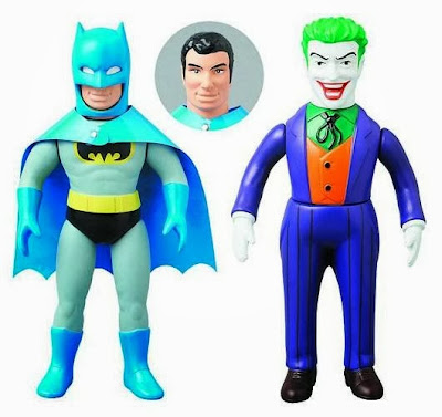 DC Comics Retro Sofubi Collection by Medicom - Batman & The Joker