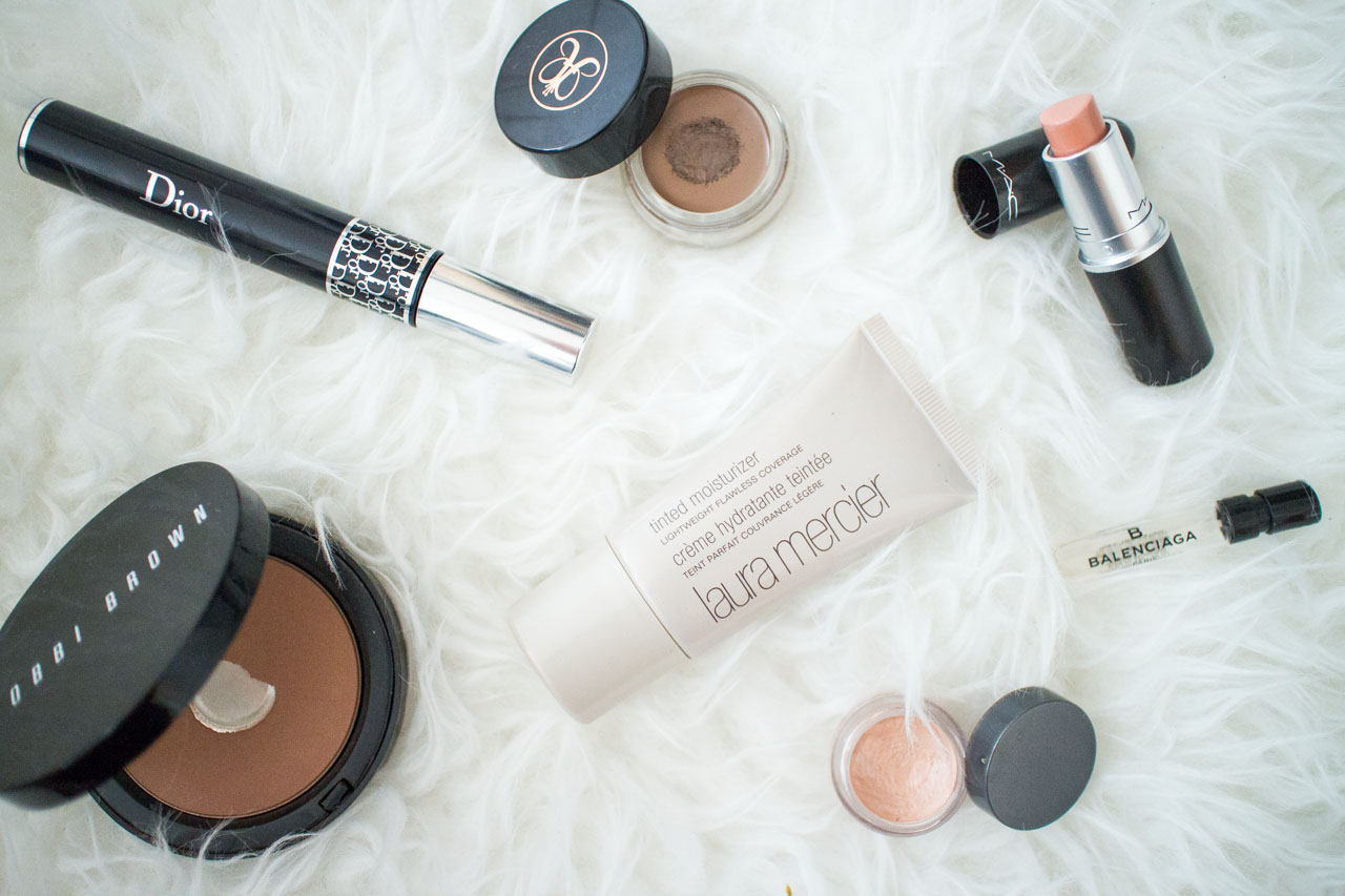 Spring make-up favourites - Vancouver Fashion Blogger routine