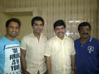 Santhanam with Powerstar