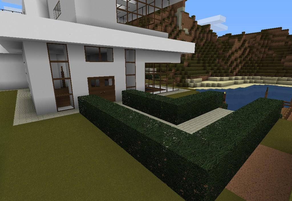 Cosas de minecraft introducci n casas lujosas for Casa moderna 1 8