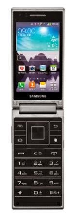 Samsung rilis ponsel lipat Android dengan prosesor quad-core 2.3 Ghz di Cina