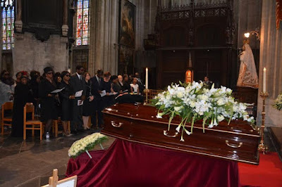 Ambassador Chief Antonio Dehinde Fernandez burial photos in Brussels