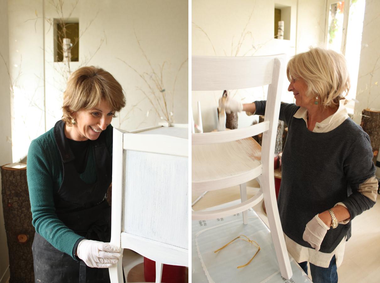 Appuntamento ad erba per il 1 aprile shabby chic interiors - Dipingere mobili ikea ...