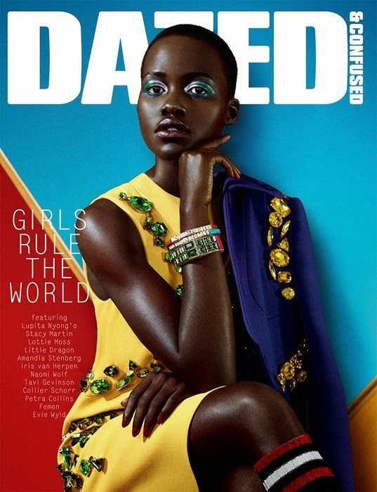 Magazine Photoshoot : Lupita Nyong'o Photoshot For Dazed &  Confused Magazine February 2014 Issue