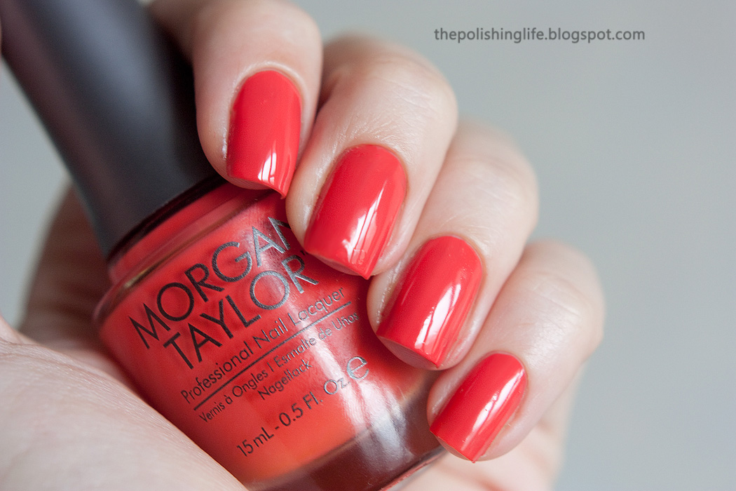 Morgan Taylor nail lacquer Sweet Escape